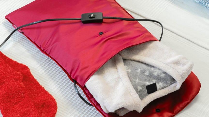 Kryp ned i sengen med varm pysjamas. Perfekt hvis sengen er litt kald.