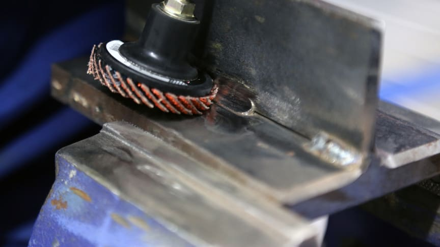 Nye minilamellrondeller gir enklere sliping på vanskelig tilgjengelige steder