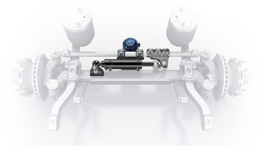 With the new electro-hydraulic auxiliary steering system Active Reverse Control, for the first time, BPW is tapping into the benefits of self-steering axles for reversing manoeuvres, too.