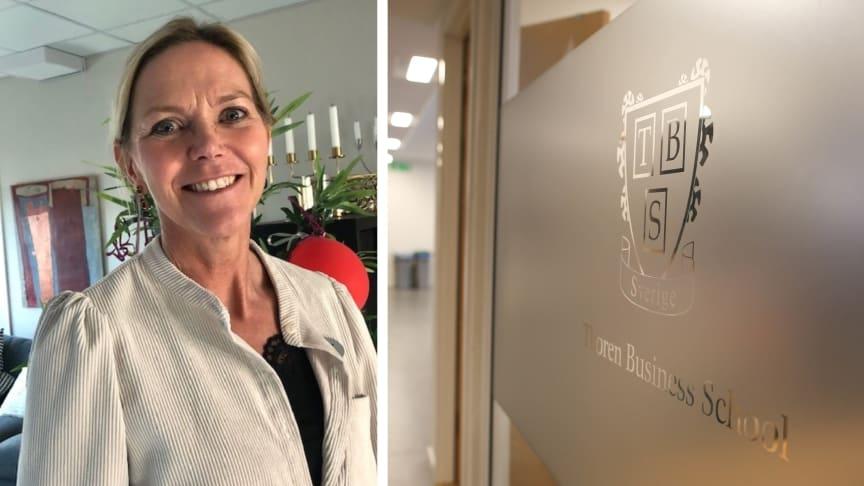 Lena Bjuresäter blir ny rektor på Thoren Business School i Karlstad.