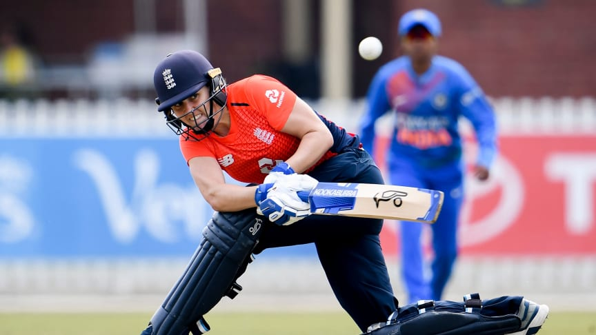 Sciver scored 50 from 38 balls. Photo: Getty Images
