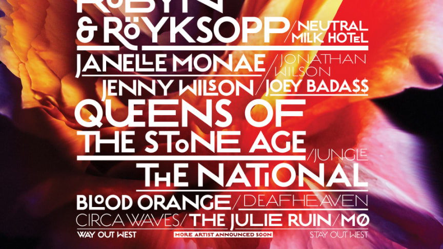 Nya toppnamn klara för Way Out West! Queens Of The Stone Age, Röyksopp & Robyn m.fl.