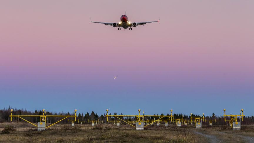 Norwegian med passagerartillväxt och hög punktlighet i maj