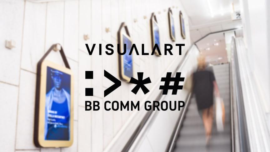 Visual Art vässar kommunikationen tillsammans med BerntzonBylund Communication Group