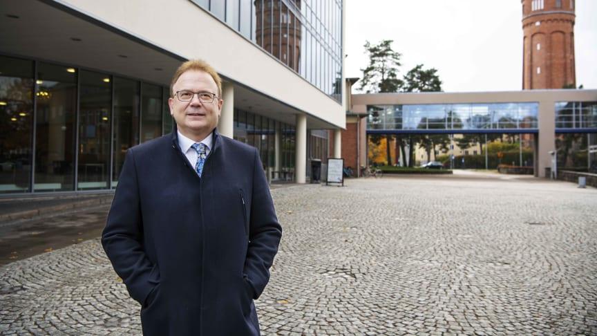 Martin Hellström, rektor för Högskolan Väst