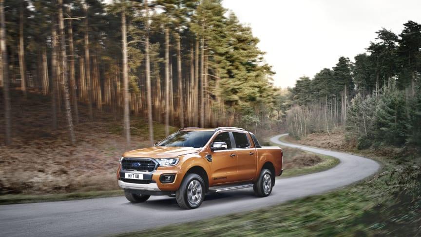 Ford Ranger – Europas mest sålda pickup – kommer finnas tillgänglig för beställning i Sverige under februari.