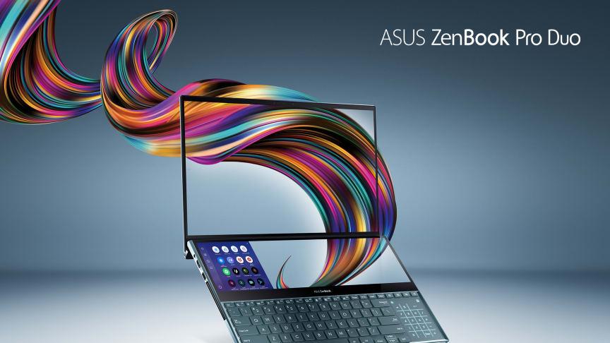 ASUS julkaisee ZenBook Pro Duo:n, jossa on uusi ScreenPad Plus