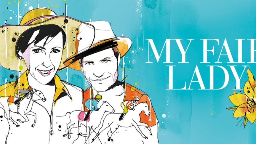 Premiär 18 februari för musikalen MY FAIR LADY med Annica Edstam och Lindy Larsson i huvudrollerna