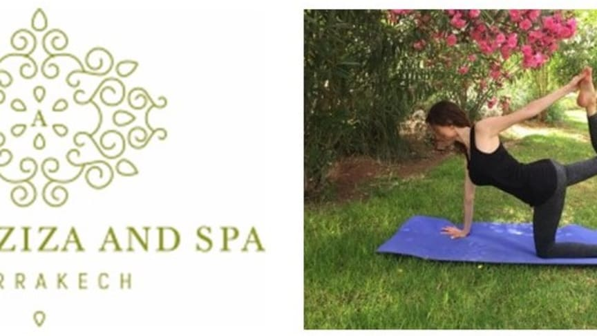 LUXURY DETOX YOGA RETREATS WITH  WELLNESS EXPERT SALLY GOLDFINGER AT PALAIS AZIZA AND SPA IN MARRAKECH