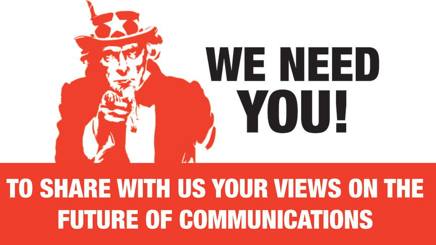 What's your view on the future of communications?
