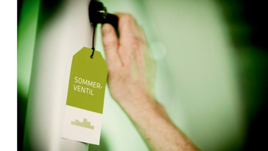 Hold klimavenlig sommer: Stop tomgang i varmeanlægget