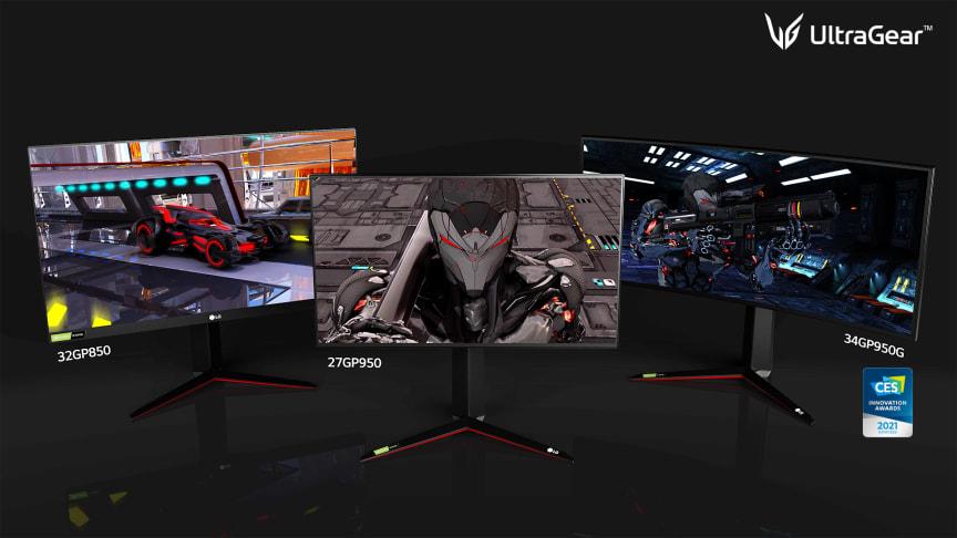 LGs nye skjermer i Ultra-serien.