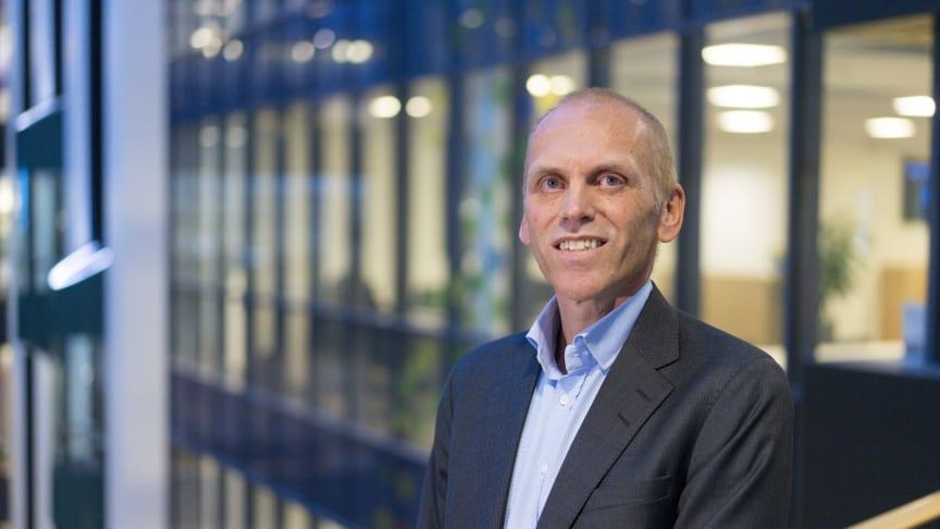Sigurd Aune, administrerende direktør i SpareBank 1 Gruppen.