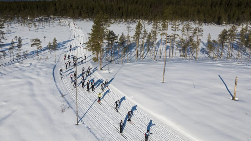 Stort intresse för Vasaloppets 100-årsjubilem – Vasaloppet 2022 är fulltecknat