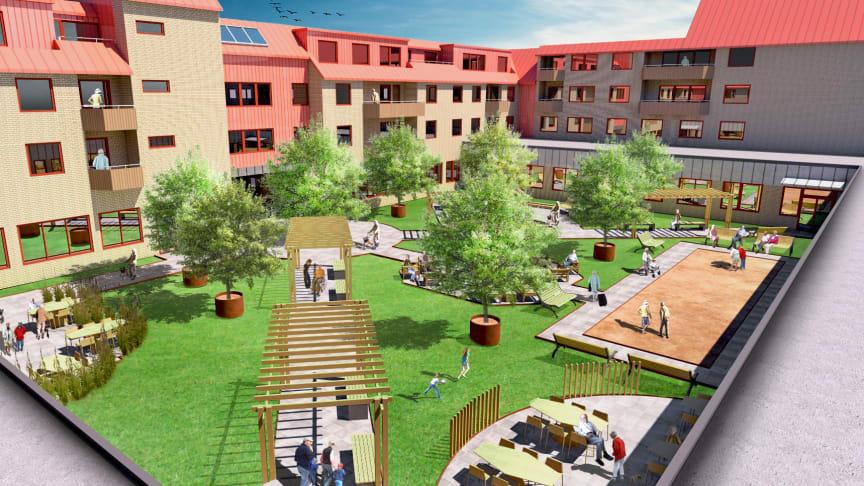 Riksbyggen och Nässjö kommun skapar Nässjös första trygghetsboende