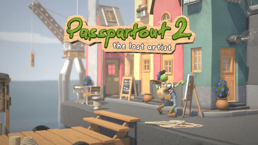 Flamebait Games presenterar uppföljaren Passpartout: The Lost Artist