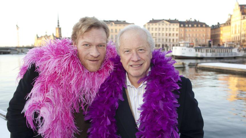 Loa Falkman och Sven Nordin får SJs Musikalpris