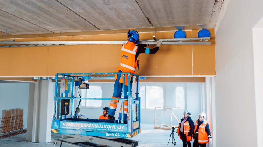 Sähkötyöt Karhusuon koulu, Espoo