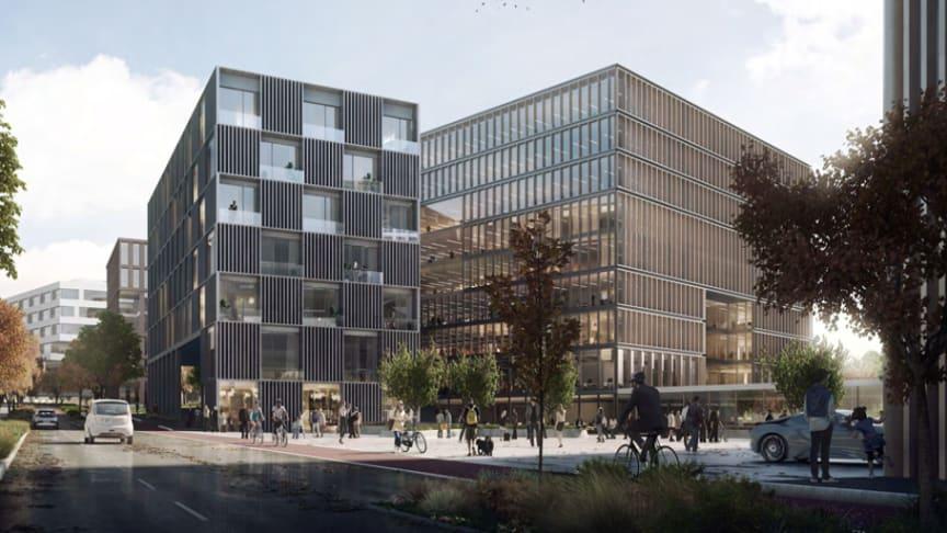 Norconsult blir strategisk samarbeidspartner i Construction City. (Ill. av inngang Construction City: LINK arkitektur/ Construction City)