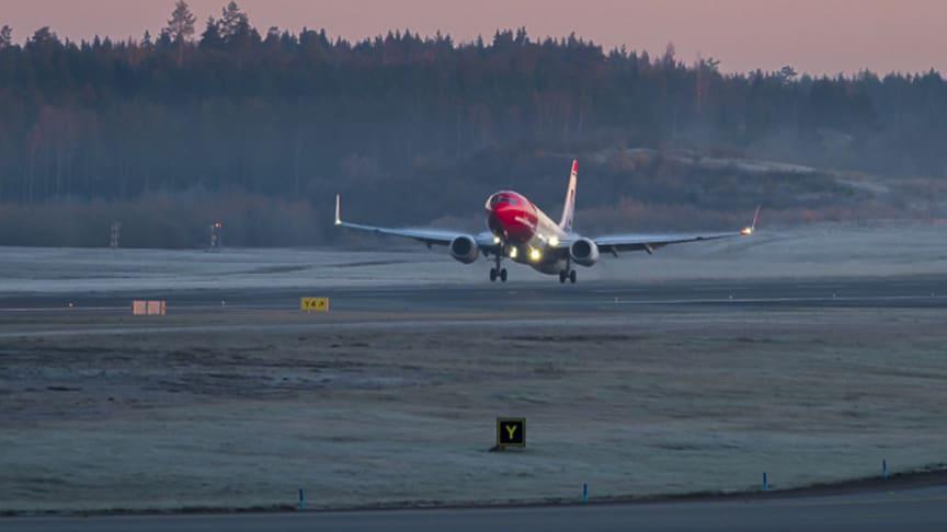 Norwegian med fortsatt passagerartillväxt och solid kabinfaktor