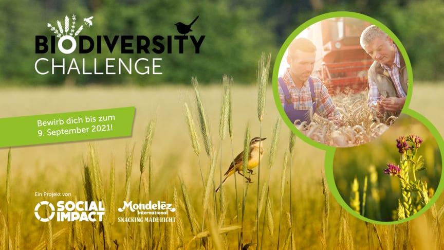 Mondelez Deutschland  initiiert Biodiversity Challenge, um innovative Ideen und bereits in Umsetzung befindliche Lösungen zum Schutze der Biodiversität zu fördern