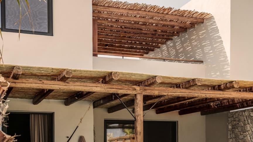 Bornholmerne skal være tidligt ude for at få fingre i de populære værelser med direkte adgang fra rummet til egen eller fælles pool – som her på Casa Cook på Kos.