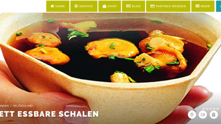 Füllett, die bio-vegan gebackene Suppenschale für Events aller Art!