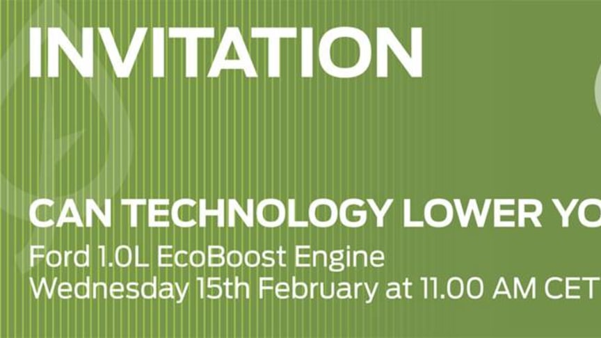 "INVITATION TIL WEBINAR ""CAN TECHNOLOGY LOWER YOUR FUEL BILL"""