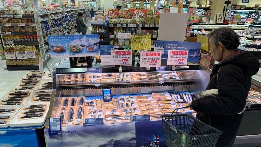 Convenience seafood products are selling better in most markets