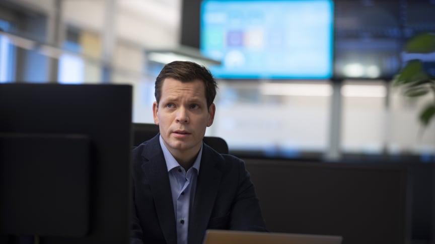 Thorbjørn Busch, sikkerhetsrådgiver i Telenor. (Foto: Martin Fjellanger)