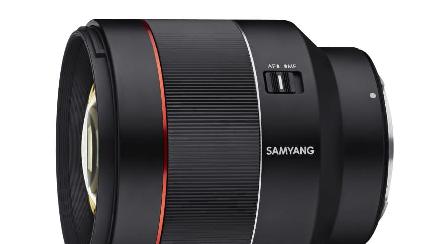 Das Samyang AF 85mm F1.4 RF wurde für die Canon EOS R und RP entwickelt.
