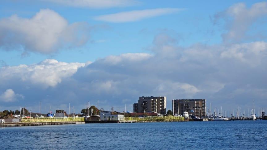 Havnefronten i Horsens, fotograf: Hansen-Denmark