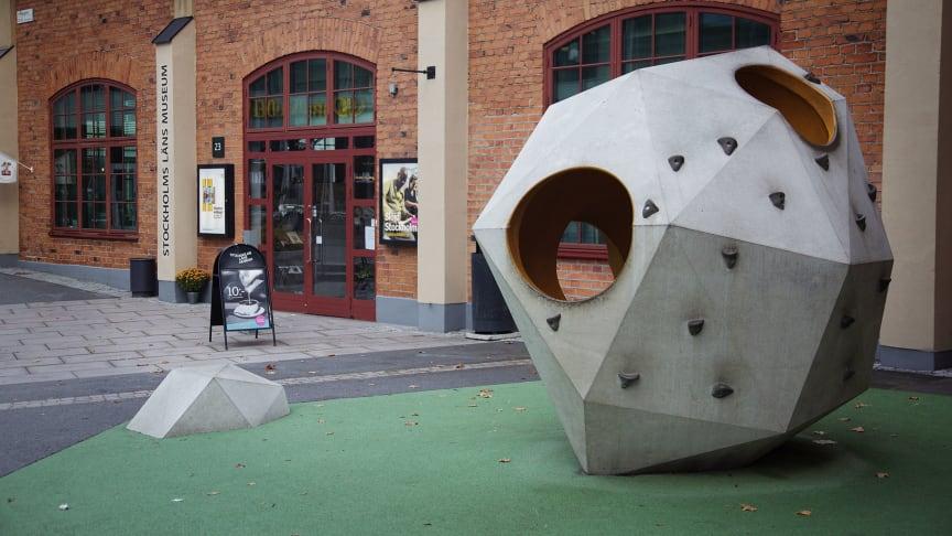 Stockholms läns museum inklusive Slöjd Stockholm ligger i Dieselverkstaden, Sickla idag. Foto: Elisabeth Boogh.