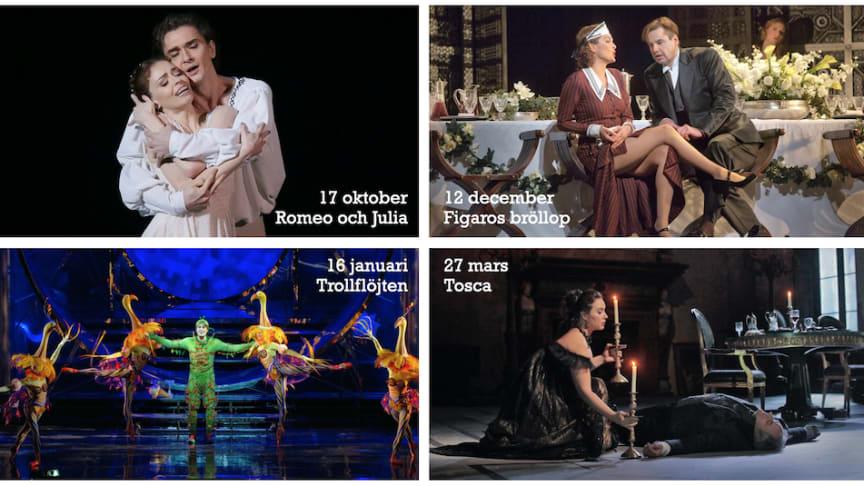 Opera och nu även balett på bio i Lindesberg
