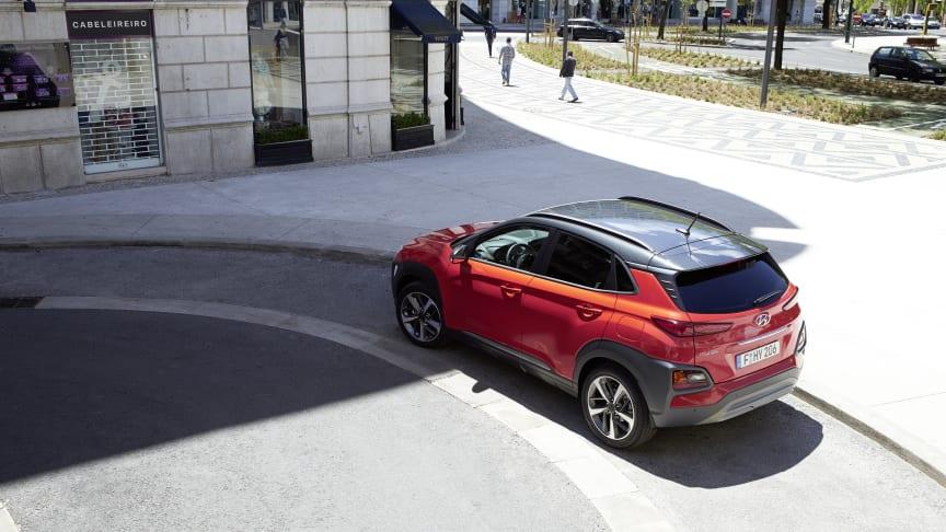 Hyundai KONA kommer som elbil i 2018. Perfekt SUV for det norske markedet.