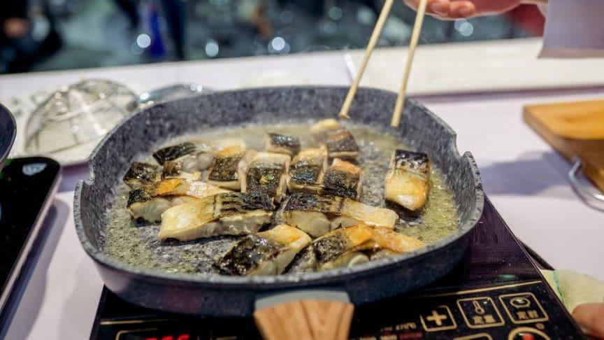 Norsk makrell på kinesisk vis. FOTO: Norges sjømatråd