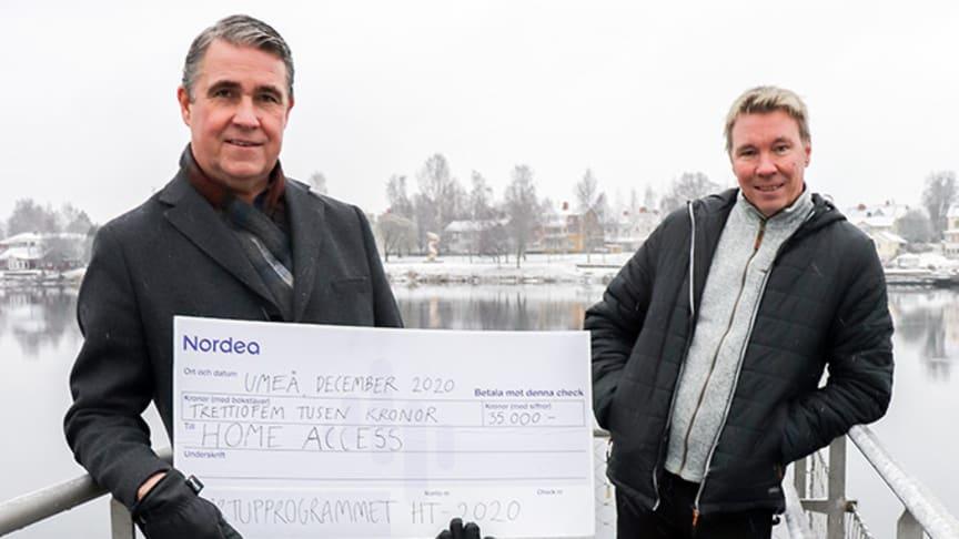 Fredric Edin, Joachim Ljungquist och Peter Olausson (ej på bild) löser fastighetsägares problem med fysiska nycklar; höga förvaltningskostnader för fastighetsägare och krångel för hantverkare, fastighetsskötare och räddningstjänst.