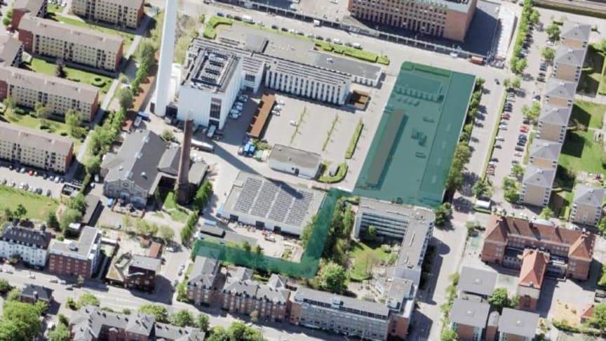 Ny Søndervang-projektet omfatter dette område på Frederiksberg. Foto: Frederiksberg Kommune