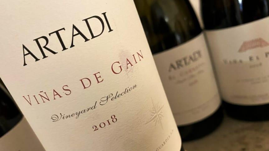Artadi Vinas de Gain 2018 foto: Michel Jamais Vinlegender.se