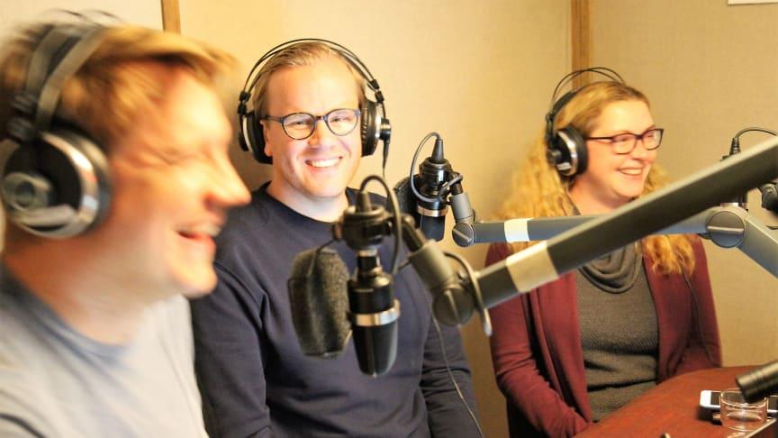 Skatteskolans panel består av Skatteverkets experter Jenny Persson och Per Granqvist under ledning av Anders Nyberg från Tillväxtverket.