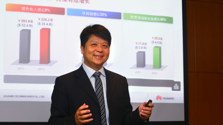 Huawei rapporterar fortsatt tillväxt
