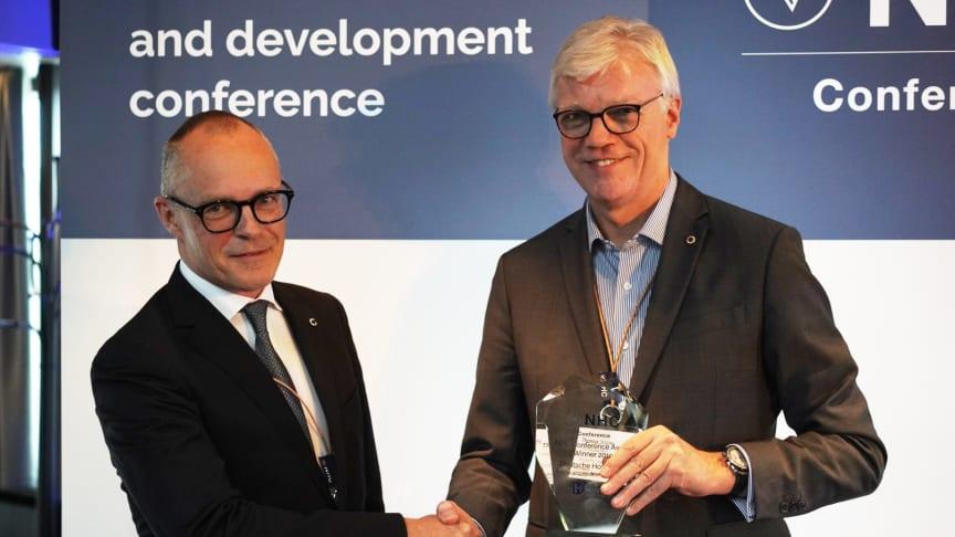 Peter Haaber CEO i Zleep Hotels og Thomas Willms CEO i Deutsche Hospitality