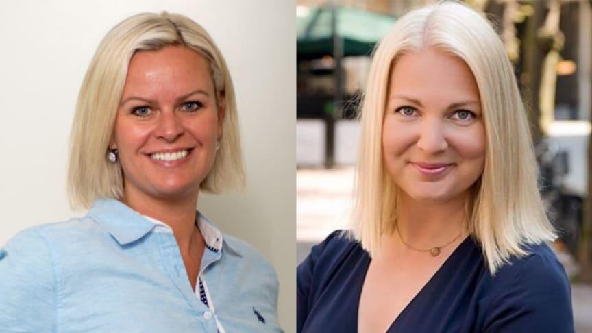 Caroline Hedenström (M)  och Ulrika Heindorff (M),besöker vårdcentraler i Skåne