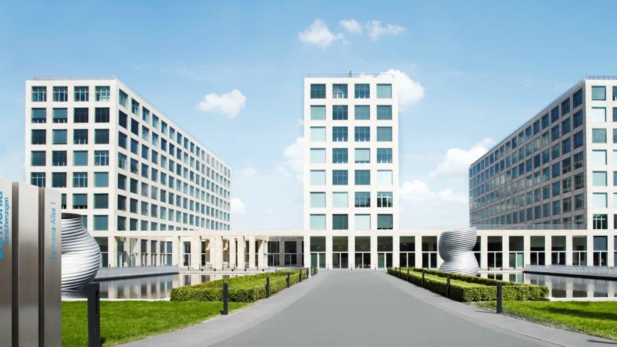 Die Hauptverwaltungen der Barmenia in Wuppertal.
