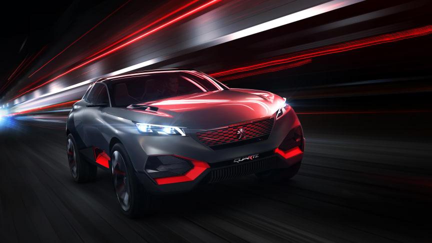 Peugeot Quartz – visar framtidens sportiga crossover