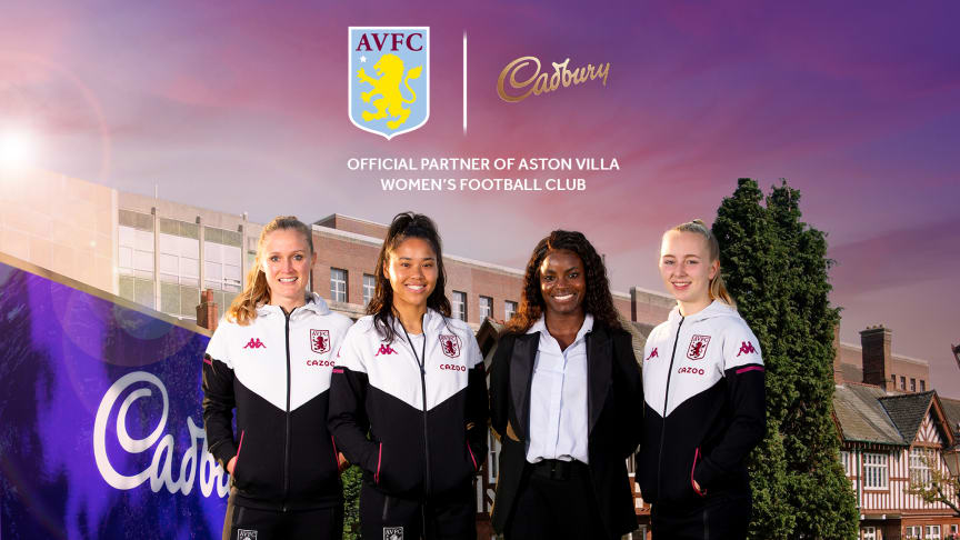 Mondelēz International and Aston Villa Women Football Club Announce New Partnership