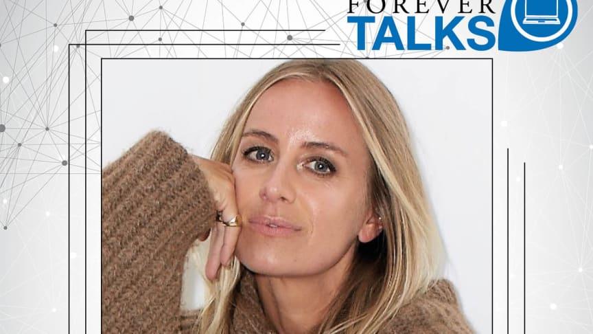 – Medvetenhet har blivit trendigt i sig och vi rör oss mot ett mer hållbart och personligt mode, säger Celine Aagaard, norsk designer som gästar Forever Livings egen podcast, Forever Talks.