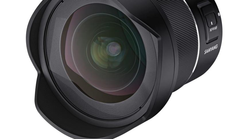 Für das Samyang AF 14mm F2,8 RF gibt es ein neues Firmware-Update.