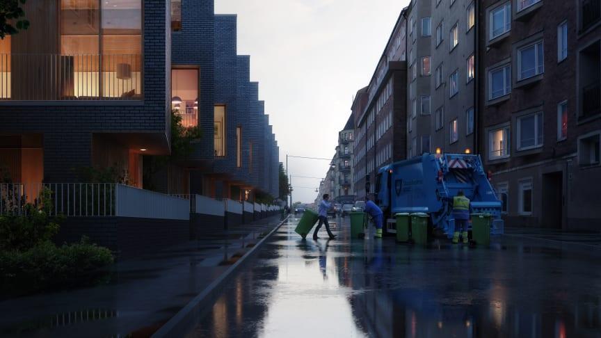 Erik Wallin och Utopia bygger radhus på Södermalm