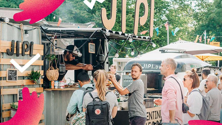 Matsvinnsfestival, nya food trucks och japanska nudelrätter är några av nyheter på matområdet på Malmöfestivalen 2019. På bilden: JIPI Argentine Food som medverkar på årets festival.